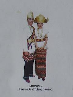 Pakaian Adat Tulang Bawang » Budaya Indonesia