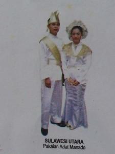 Pakaian Adat Sulawesi Utara » Budaya Indonesia