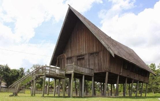 Adat Rumah Betang Pasir Panjang Kalimantan Tengah Budaya Indonesia